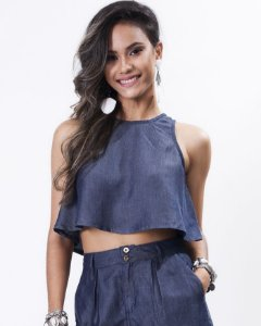 Top Cropped Nadador Liocel