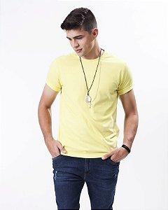 Camiseta Malha gola Careca
