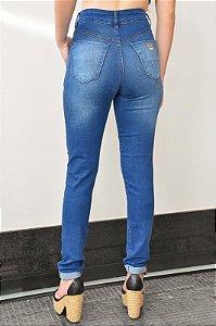 Calça Jeans Mom Cos com Pala