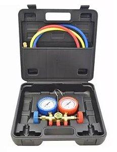 Kit Manifold para Gás R22 / R134A / R404A - Suryha