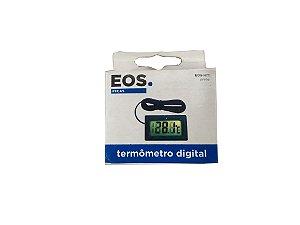 Termômetro Digital Retangular com cabo - Eos