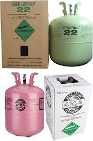 Gás Refrigerante R22 13.60 kg + 15 Gás R410A 11.35kg Pronta entrega