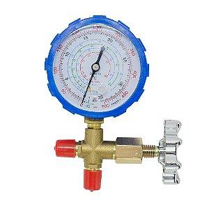 Manifold De Baixa Com Manômetro R22 / R134-a / R410-a