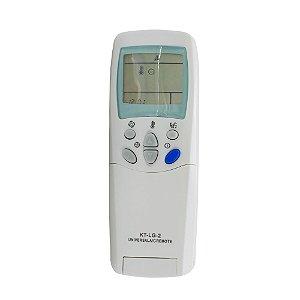 Controle Remoto Universal para Ar Condicionado LG KT-LG-2