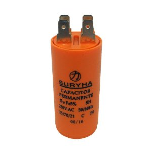 Capacitor 5UF 250VAC Suryha
