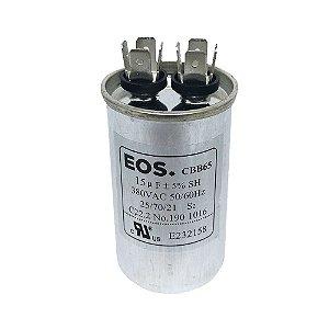 Capacitor 15MFD 380VAC EOS