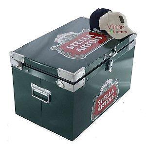 Caixa Térmica Personalizada Adesivada 60 Litros + brinde boné Grátis