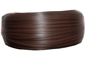 Fita de junco sintético de 10 mm rolo com 500 metros cor Argila