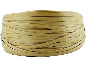 Fita de junco sintético de 10 mm rolo com 500 metros cor Bege