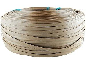 Fita de junco sintético de 10 mm rolo com 500 metros cor Castanho