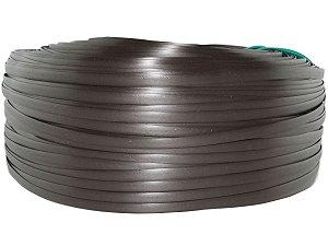 Fita de junco sintético de 10 mm rolo com 500 metros cor Tabaco
