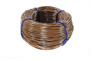 Fio cordão de junco vime rattan sintético de 3mm 500 metros Chocolate