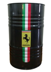 Tambor Decorativo 200L - Ferrari Black