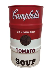 Tambor Decorativo 100L - Campbell's