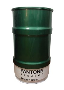 Tambor Decorativo 100L - Pantone Amazon Green