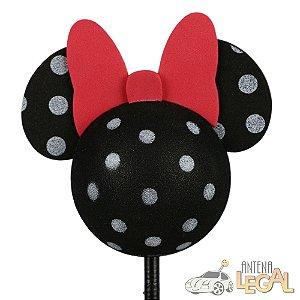 Enfeite de Antena para Carro Minnie Pintadinha Disney