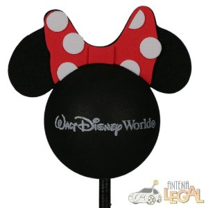 Enfeite de Antena para Carro Minnie Walt Disney World