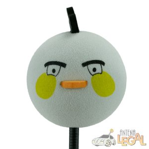 Enfeite de Antena para Carro Angry Birds Matilda
