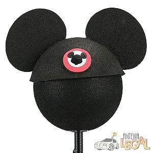 Enfeite de Antena para Carro Mickey de Chapéu Disney
