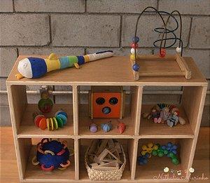 Estante Organizadora Montessori