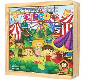 Quebra Cabeça Gigante - Circo 24 pçs
