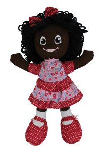 Brincar: Boneca de Pano Malu
