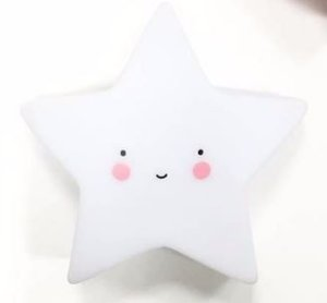 Mini Luminária de Led - Estrela Branca