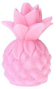 Mini Luminária de Led - Abacaxi Rosa