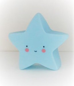 Mini Luminária de Led - Estrela Azul