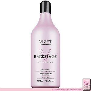 Backstage Nutrição Shampoo 1L Vizet Profissional