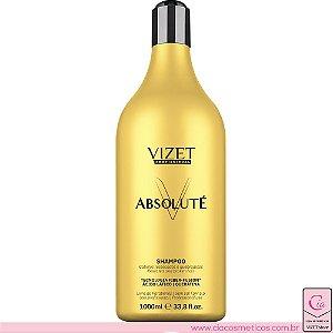Shampoo Absoluté 1000ml Vizet Profissional