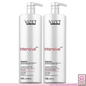 Intensive Pro Shampoo e Máscara 1lt Vizet Profissional