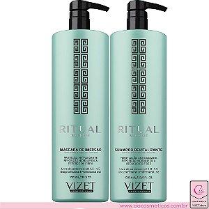 Shampoo e Máscara Ritual Sublime Vizet