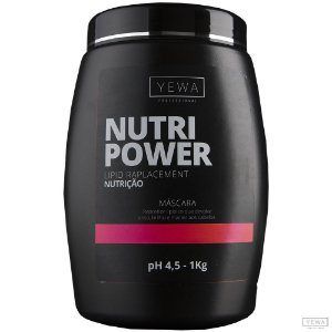 Máscara Nutri Power 1kg Yewa Professional