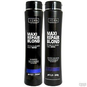 Shampoo + Condicionador Max Repair Blond 300ml Yewa Professional