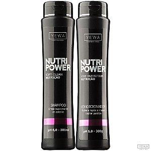 Shampoo + Condicionador Nutri Power 300ml Yewa Professional