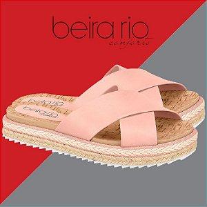 Tamanco Slide Beira Rio Conforto 8354.201 rosa