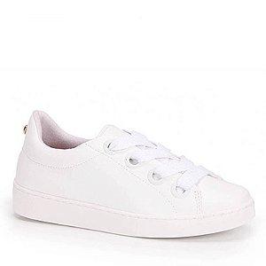 tenis casual vizzano feminino flat verniz branco - 1214252-branco