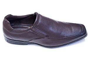 Sapato Social Ferracini Couro Marrom 3168-220h