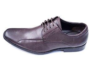 Sapato Social Ferracini Couro Marrom cadarço - 4742-554j