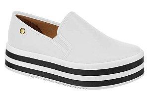 slip-on flatform vizzano branco - 1298106-bco
