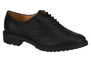 Sapato Oxford Tratorado Vizzano Preto - 1317101-pto