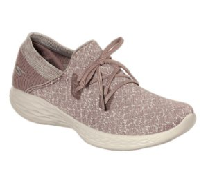 Sapatilha Esportiva Skechers You Exhale Nude - 14964-Mve