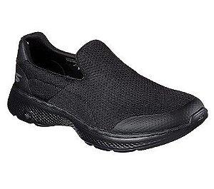 Sapatilha Esportiva Skechers Go Walk  4 Incredible Preta - 54152-Bbk