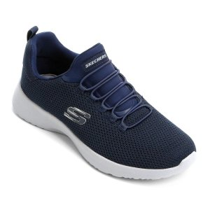Tenis Esportivo Skechers Dynamight Azul Marinho - 58360-Nvy