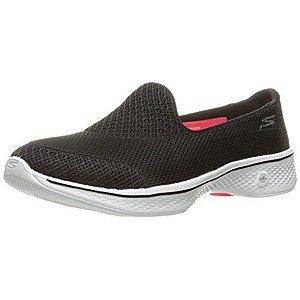 Sapatilha Esportiva Skechers Go Walk 4 Propel Preta - Gow-14170-Bkw