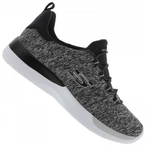 Tenis Esportivo Skechers Dynamight Break Through Preto - R-12991-Bkw
