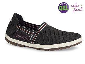 sapatilha esportiva kolosh tecido preta - c0904a-0006