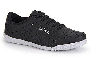Tenis Casual Kolosh  Feminino Black Preto - C1301-Bck