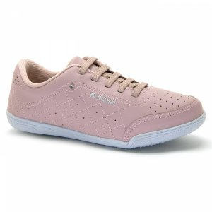 tenis casual kolosh blush rosa - c1301-bl